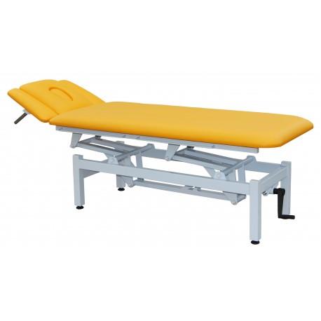 Masérsky stôl  SPM  s manuálnym zdvihom lôžka