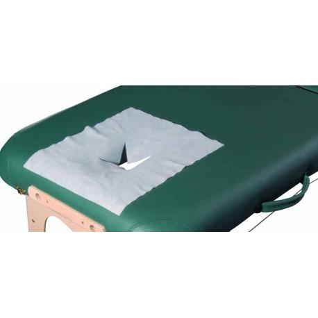 Jednorázová prikrývka otvoru na masážnom lehátku a silikónovéj podložky