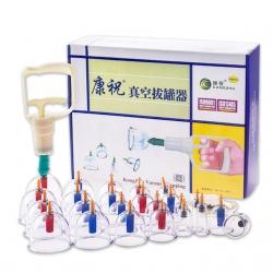 Vákuové masážne banky sada 24 kusov od firmy Kangzhu