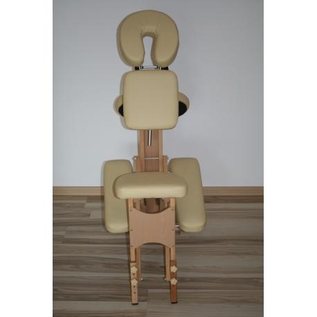 Drevená masážna stolička